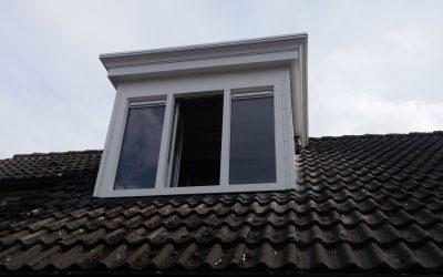 Oude dakkapel vervangen voor een kunststof dakopbouw